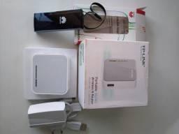 Kit Modem 4g Huawei E392 Brinde modem Tp Link TL MR3020