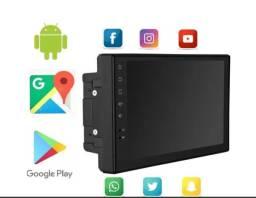 Central multimidia android GPS wifi bluettoh integrado lacradas