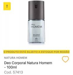 Deocorporal Desodorante Spray Natura Homem