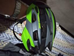 Capacete p/ Ciclismo, com lente