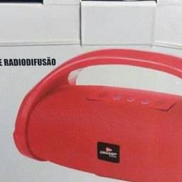 Caixa bombox bluetooth 125,00