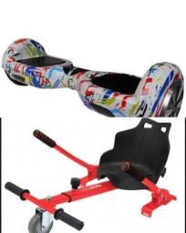 Vendo Hoverboard semi novo com carrinho. R$ 850,00