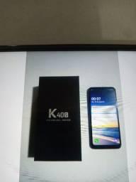 Celular Lg k40s semi novo