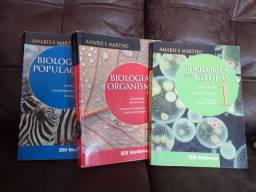 Livros de Biologia Coleção  Amabis e Martho