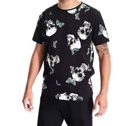 Camiseta Oyhan masculina Caveira