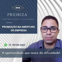 Promoção Abertura de Empresa e CNPJ