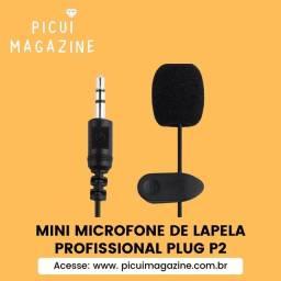 Microfone Lapela P2 - MEGA OFERTA!!!!