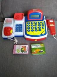 Caixa Registradora Eletrônica Infantil
