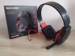 Headset Fone Pc Gamer P2 Stereo Multilaser Ph073