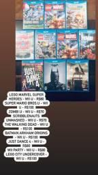 Jogos e equipamentos Nintendo Wii e WiiU