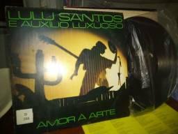 Lp Vinil Lulu Santos E Auxilio Luxuoso Amor A Arte.