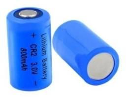 Bateria Pilha Cr2 Recarregável 800mah 3v C/2 Unid - Nova!