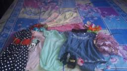 Lote roupas de  meninas