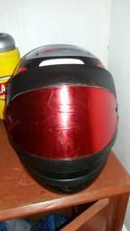 vendo um capacete san marino semi novo