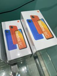 XIAOMI REDMI 9C 64GB TELA 6.53 novos disponíveis versão Global