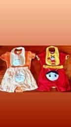 Lote roupas de bebê masculino