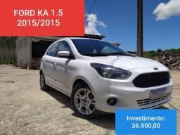 FORD KA SEL 1.5 COMPLETO 2015/2015