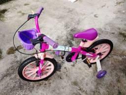 Vendo bicicleta feminina infantil 280$