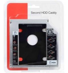 Adaptador Caddy   9,5 12,7mm Hd Ou Ssd Sata Notebook Gateway