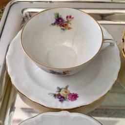 Xícara + Pires  Cafézinho Porcelana Polonesa unitário usado