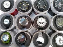 Relógios Originais Masc/Femin A Prova de Água com Garantia de 12 meses- Entrega Grátis