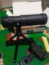 Lente telescópio para celular