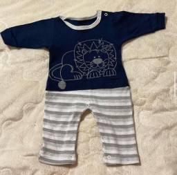 Macacão Manga Longa para bebê