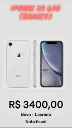 IPhone XR 64gb branco - Novo Lacrado
