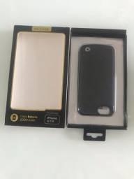 Capa bateria recarregável (iphone6,7,8)