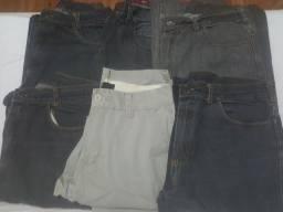 Calças masculinas tamanho 42