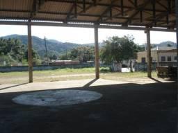 Terreno murado 3600m2, com galpão 1000m2 escritório
