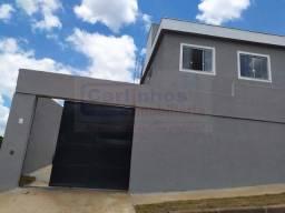 Casa germinada á venda com 2 dormitórios, bairro Vila Suzana em Mateus Leme