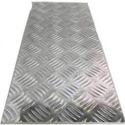 Placa de Alumínio Xadrez