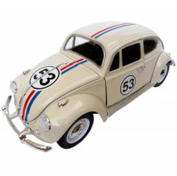 Miniatura De Ferro vVolkswagen Fusca 12cm 1:36