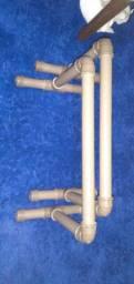 Barras paralelas calistenia PVC Amador/Avançado