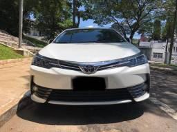 Corolla xei 2.0 16 v flex automático 4 portas cor branco ano 2019
