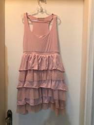 O3 vestidos infantis cada 15 reais