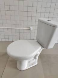 Kit vaso sanitário com caixa acoplada DECA