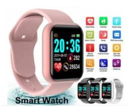 Smartwatch Y68/D20/GM20 à Prova d?Água/Bluetooth/USB/Monitor Cardíaco/Relógio Inteligente
