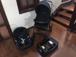 BURIGOTTO - Carrinho, bebê conforto e base para carro