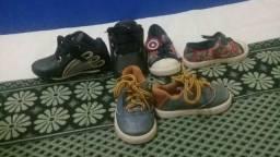 Sapatos pontuação 18 19