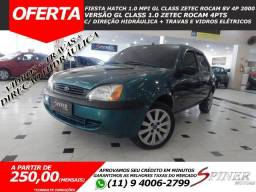 Ford Fiesta Hatch 1.0 Mpi GL Class Zetec Rocam 8v 4p Completo - AR - 2000