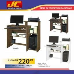 Mesa para computador Austrália. Montagem grátis