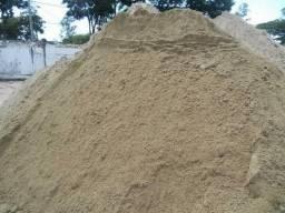 Areia pedra terra saibro pó de pedra