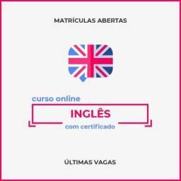 Curso de Inglês - Certificado Reconhecido