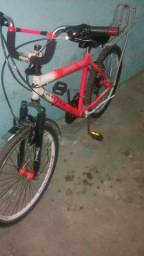 Vendo bicicleta aro 24 com as melhores peças