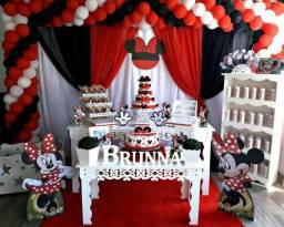 Minnie - Decoração para Aniversário e Chá de Bebe