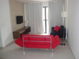 Quarto e sala com varanda e completo na ponta verde