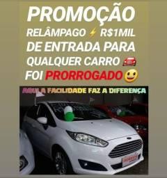 Mega PROMOÇÃO!! R$1MIL DE ENTRADA(NEW FIESTA TITANIUM AT 2014)SHOWROOM AUTOMÓVEIS