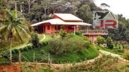 Vendo lindo sitio em santa maria de jetibá com bela casa com vista pra o vale
